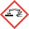corrosive coshh symbol