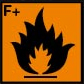 coshh symbol extremely flammable