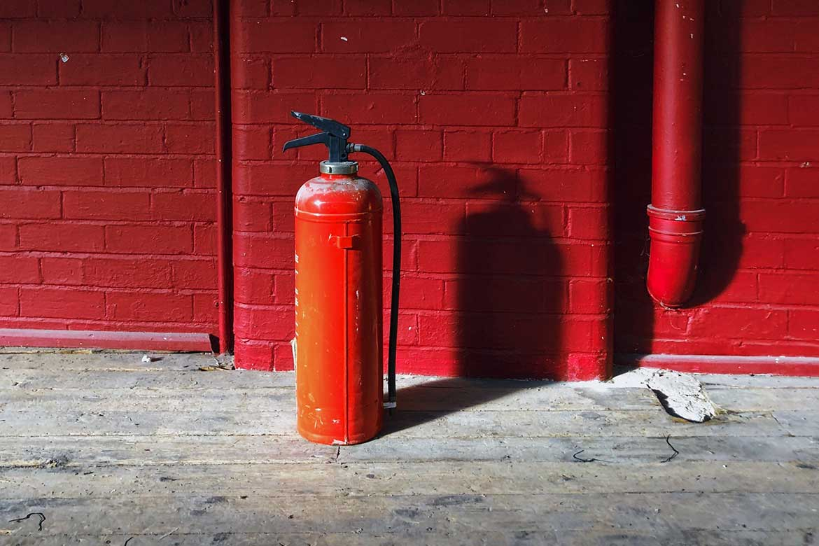 The 5 Types And Colours Of Fire Extinguishers And Their Uses image