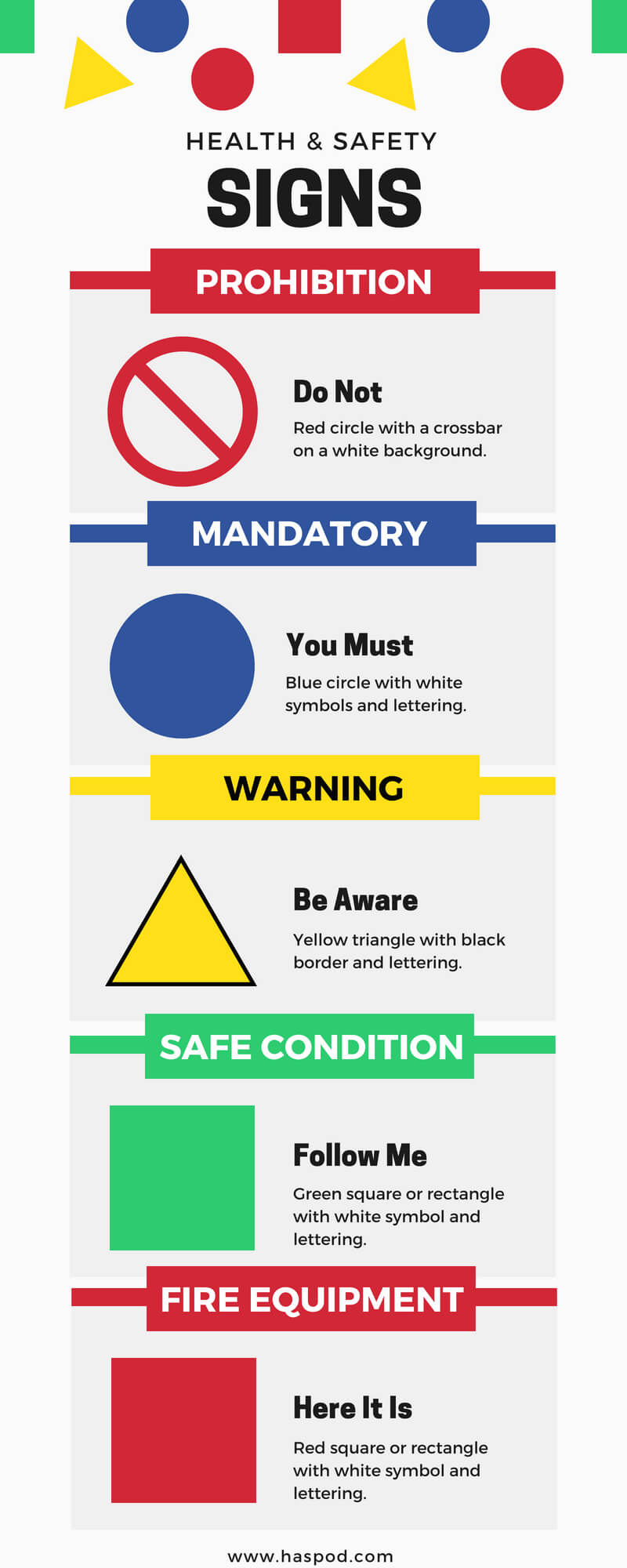 safety signs meaning infographic