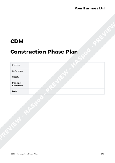 CDM Pack Contractor image 1