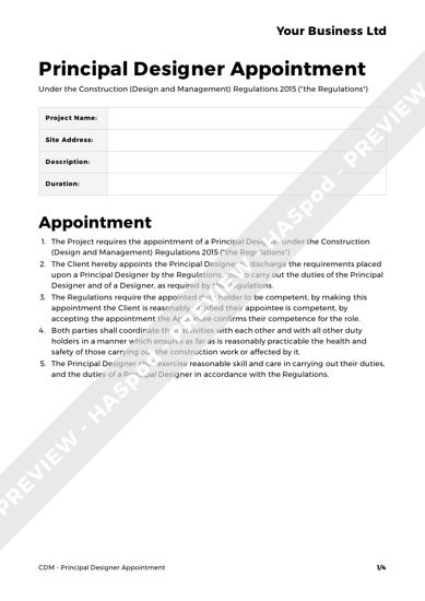 CDM Pack Principal Designer image 2
