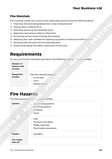 Fire Evacuation Procedure image 2