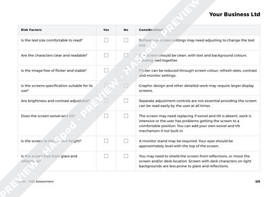 Form DSE Assessment image 2