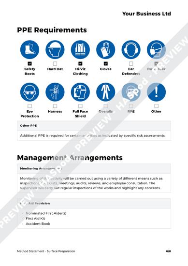 Method Statement Surface Preparation image 3
