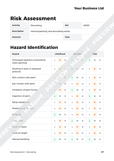 Risk Assessment Decorating image 1