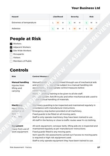 Risk Assessment Factory image 2