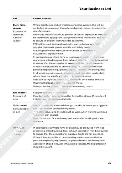 Risk Assessment Lead image 2