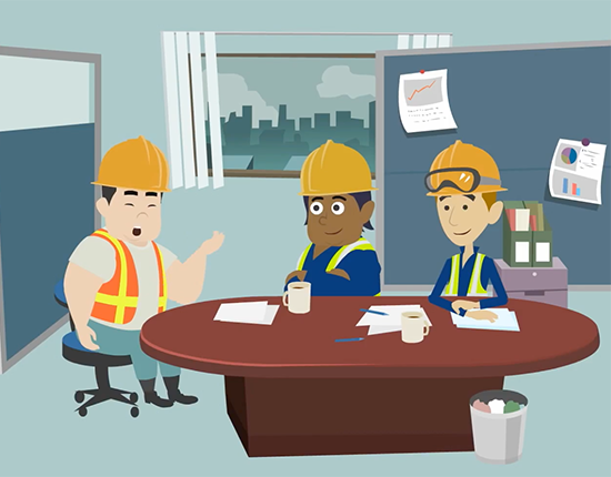 Construction Safety elearning course image 4