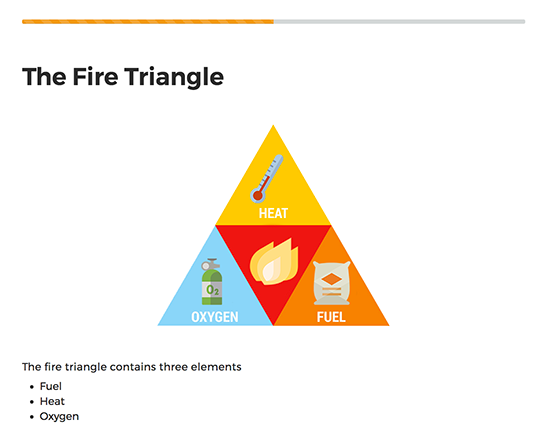 Fire Safety elearning course image 2